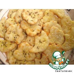 """Рецепт: Сырное печенье """"На ура!!!"""""""
