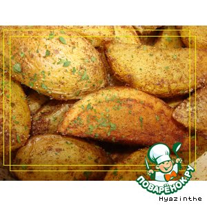 Рецепт: Пикантный картофель по-испански