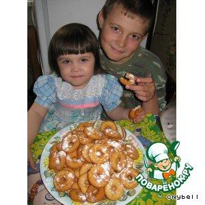 Рецепт: Печенье Сушки