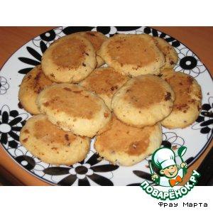 Рецепт: Песочное печенье «Любимое»