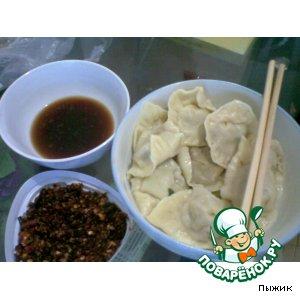 Рецепт: Jiaozi или пельмени по-китайски