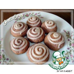 Печенье Вишенка с завихрениями