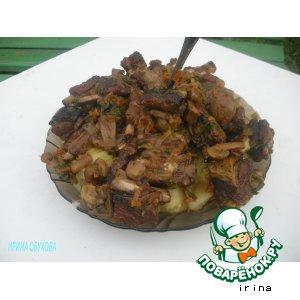 Рецепт: Свиные ребрышки