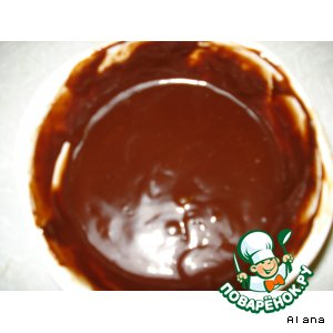 Рецепт: Настоящая шоколадная глазурь