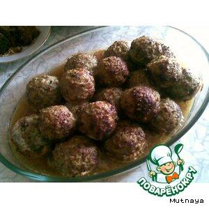 Рецепт: Фаршированные грибы и фаршированный картофель