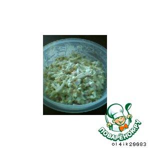 Рецепт: Очередной салат из крабовых палочек