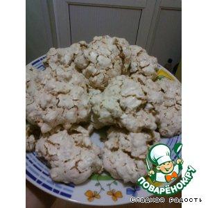 Печенье воздушное с орехами