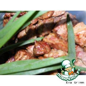 Рецепт: Свинина ароматная