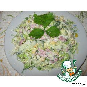Рецепт: Капустный салат Очень вкусно