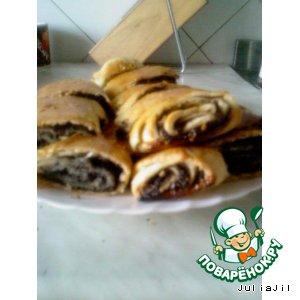 Рецепт Штрудель с маком и орехами