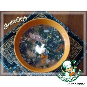 Рецепт: Суп с молодой крапивой