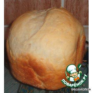 Рецепт: Французкий заварной хлеб для хлебопечки