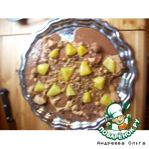 "Рецепт: Меренговый десерт ""Корнелия"""