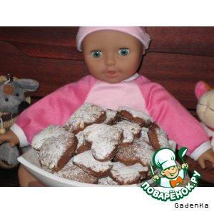 Рецепт: Печенье из варенья «Пряничное»