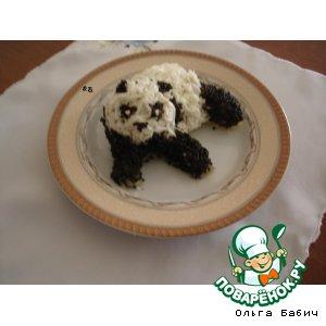 """Рецепт: Салат """"Панда"""""""