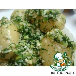 Рецепт: Молодой картофель