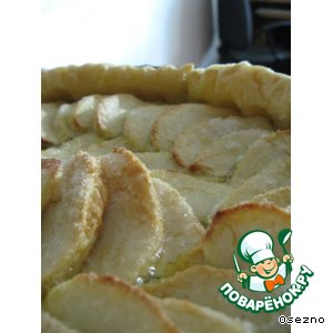 Рецепт Быстрый пирог с яблочками