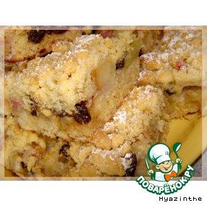 Рецепт: Фруктовый пирог