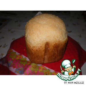 Рецепт: Кукурузно-овсяный хлеб