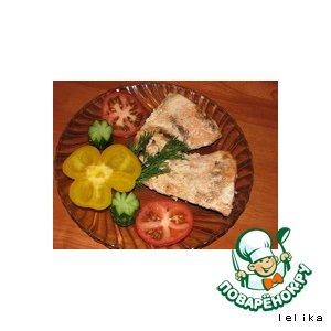 Рецепт: Красная рыба по-провански