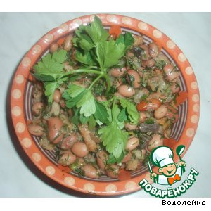 Рецепт: Салат Фасолька