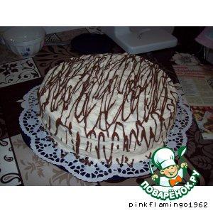 Рецепт: Торт Чтобы растаять (Zum Dachinschmelzen)