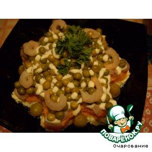 Рецепт: Креветки в майонезном соусе
