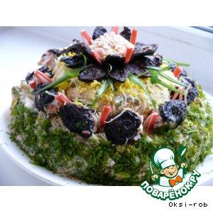 Рецепт: Салат « Победитель»