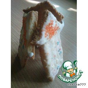 Рецепт: Печенье Небоскрeбики