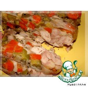Рецепт: Куриная ветчина №2