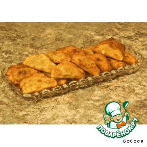 Рецепт: Пирожки с грибами и картофелем