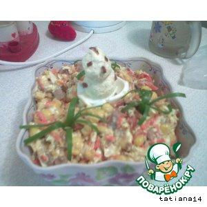 Рецепт: Салат Пеструшка
