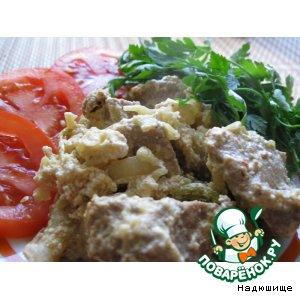 Рецепт: Цветная капуста с мясом