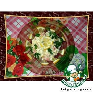 Рецепт: Салат из пекинской капусты