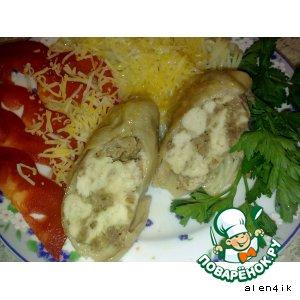 Рецепт: Домашние колбаски от Аленчика