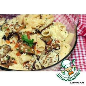 Рецепт Паста с баклажанами