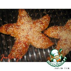 Рецепт: Лепeшки Морские звeзды