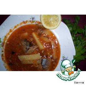 "Рецепт: Суп ""Дачный"" (рыбный)"