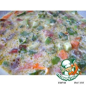 Рецепт: Холодный фитнес-суп из овощей с йогуртом