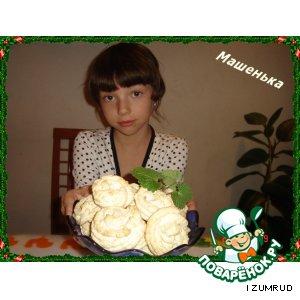 Рецепт: Печенье Хризантемы