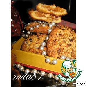 """Рецепт: Печенье """"Крамбл"""" (на картофельных чипсах)"""