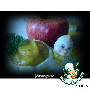 Рецепт: Яблочный чатни (соус)