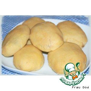 Рецепт: Пирожки картофельные с грибами
