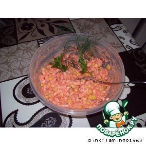 Рецепт: Салат-намазка Яичный
