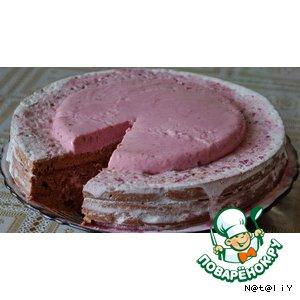 Торт Вишневая сказка