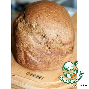 Рецепт: Хлеб ржаной заварной