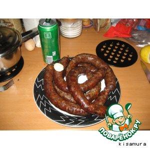 Рецепт: Домашняя колбаса Дичь одомашненная