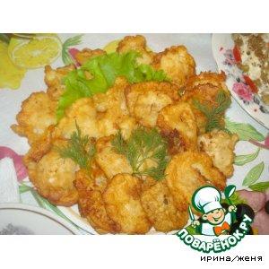 Рецепт: Закуска Рыба в кляре