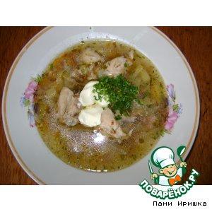 Рецепт: Суп куриный с гречкой