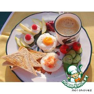 Рецепт: Яйца-пашот в интерьере